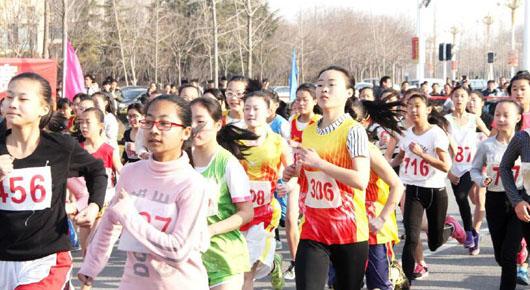寿光中学生越野长跑竞走运动会落幕