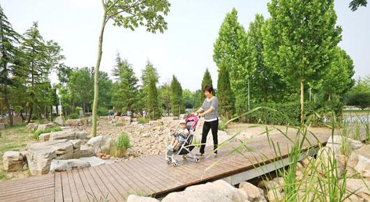"""打造""""口袋公园""""提升城市品质"""