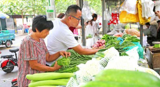 """蔬菜价格持续上涨市场难觅""""一元菜"""""""