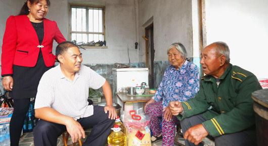 营里镇:用心用情 让4066名老人感受党的温暖