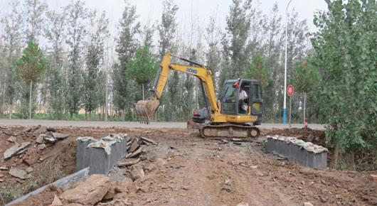 规划实施河道防洪除涝工程建设