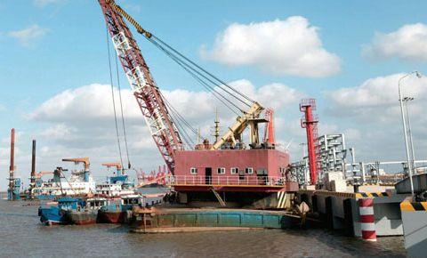 寿光港货物吞吐量首次突破千万吨大关