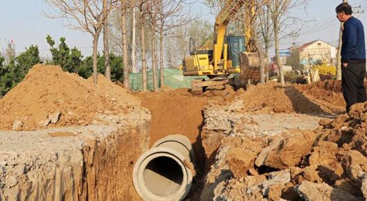确保排水工程按时按质完工