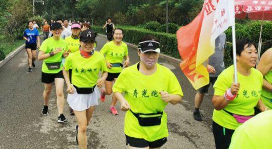 万人健步行激发全民健身热潮