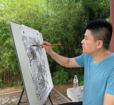 情系山水承古韵  胸存千壑诗意来  ——访中国美术家协会会员、山水画家武春玉
