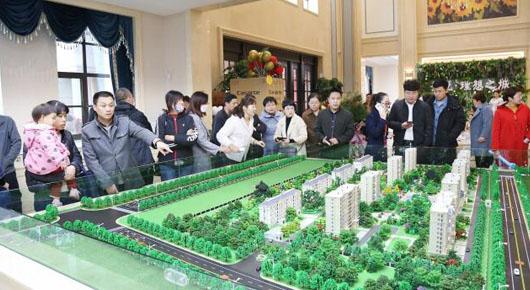 圣悦·理想之城开盘 刘旺片区棚户区改造加速推进