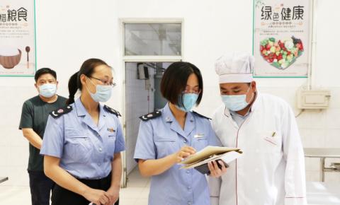 市场监管局:全力守护复学校园食品安全