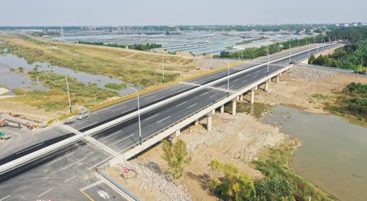潍高路、北环路丹河大桥今日10时正式通车