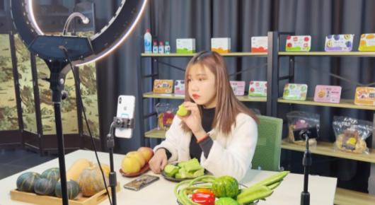 寿光蔬菜网上卖 直播带货成趋势